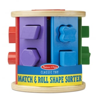 Match And Roll Shape Sorter