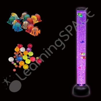 Bubble Tube 105cm (comes with fish and balls)*