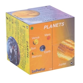 Planets Cube - Solar System Statistics