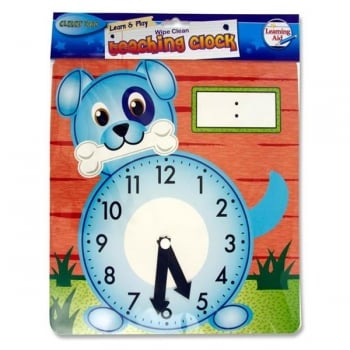 Teaching Clock - Dog