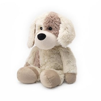 Warmies® Cozy Plush Weighted Heated Microwavable Puppy