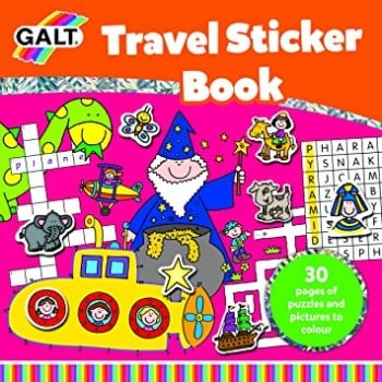 Galt Travel Sticker Book *