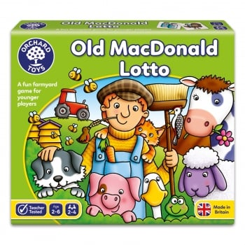 Orchard Toys Old MacDonald Lotto - early learning matching game