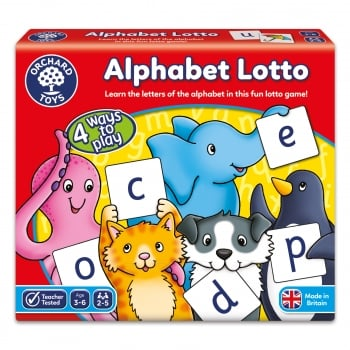 Orchard Toys Alphabet Lotto - Easy To Play Childrens Board Game
