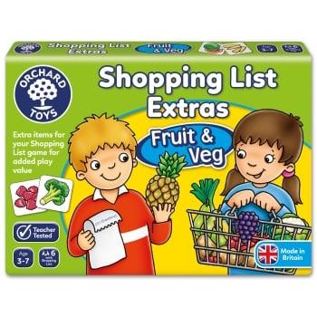 Orchard Toys Shopping List Booster Pack - Fruit & Veg