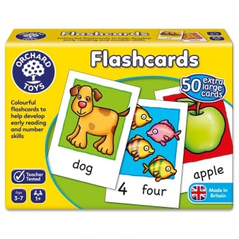 Orchard Toys First Words Flashcards - Develop early reading and number skills