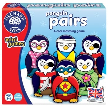 Orchard Toys Penguin Pairs Mini Game
