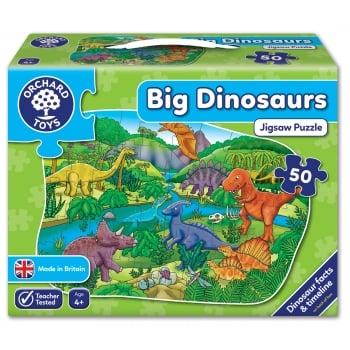 Big Dinosaur Jigsaw Puzzle 50 Pieces