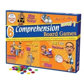 Smart Kids 6 Reading Comprehension Games Level 1 (Yrs 3-4)