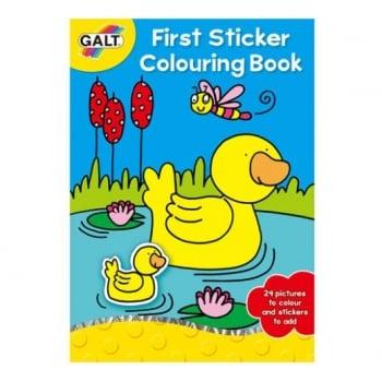 Galt First Sticker Colouring Book *