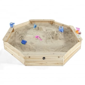 Plum® Outdoor Play Giant Wooden Sand Pit**