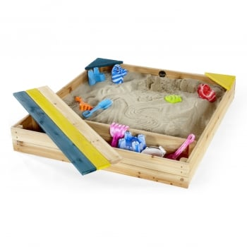 Plum® Outdoor Play Store-It Wooden Sand Pit**