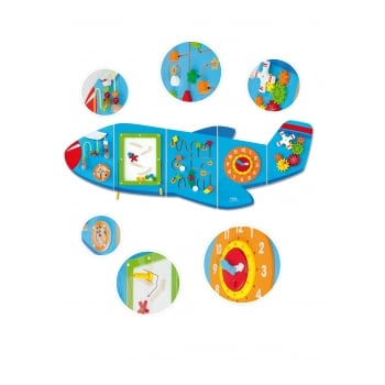 Aeroplane Activity Wall Panel Toy*