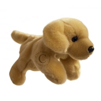 Small Golden Labrador Hand Puppet