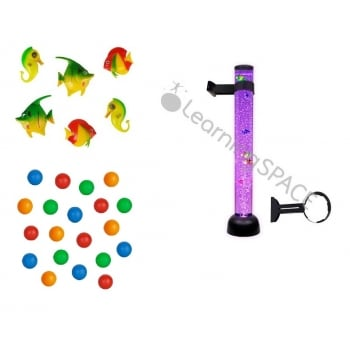 Bubble Tube 105cm, Bracket, Fish and Ball Complete Set*
