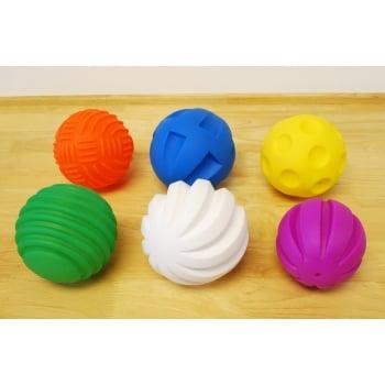 Tactile Balls Pk 6