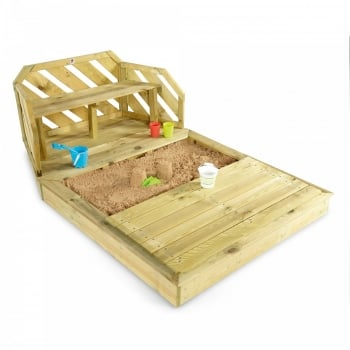 Plum® Wooden Sand Pit and Bench**