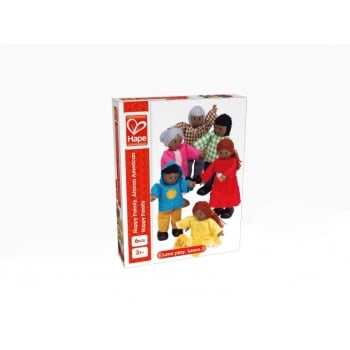 Happy Families - African American Doll Set