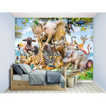 Walltastic Mural - Jungle Safari*