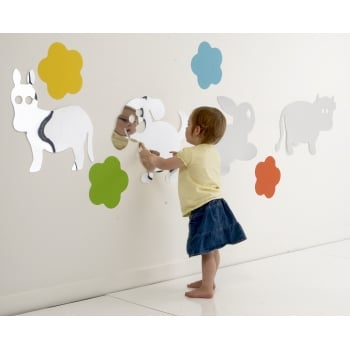 Countryside Animal Mirror Set*- Develop childrens self awareness