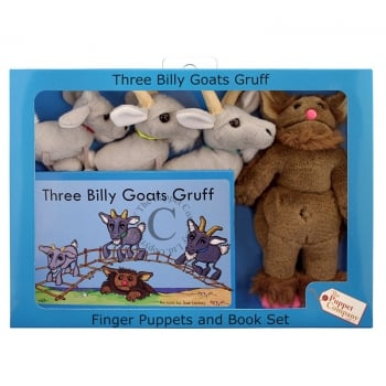 Puppet Company Three Billy Goats Gruff Puppets Box Set