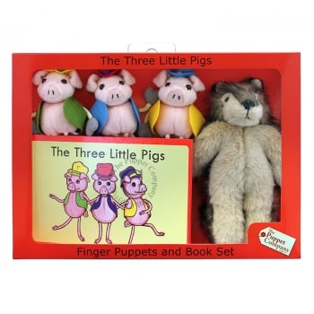 Puppet Company The Three Little Pigs Puppets Box Set