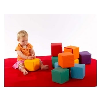 Playsofty Cubes* - Soft and colourful cubes