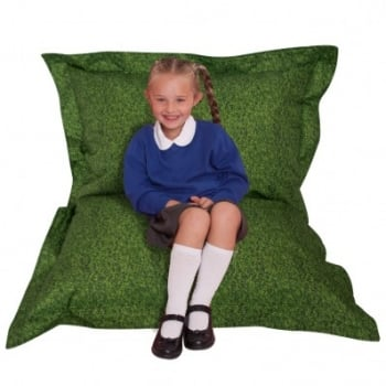 Grass Childrens Bean Bag Floor Cushion