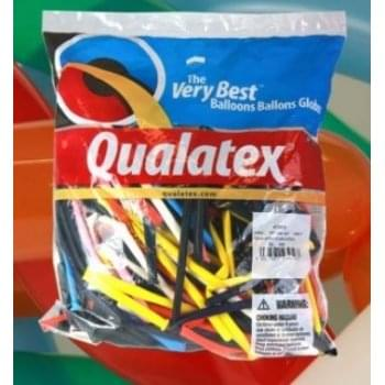 Qualatex 260Q Traditional Balloon Selection - pack of 100