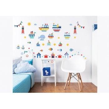 Walltastic Nautical Wall Stickers