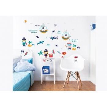 Walltastic Pirate Wall Stickers