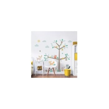 Walltastic Woodland Tree & Friends Large Character Stickers