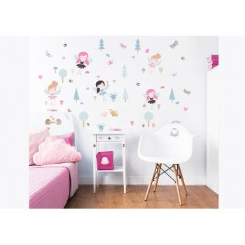 Walltastic My Woodland Fairies & Friends Wall Stickers