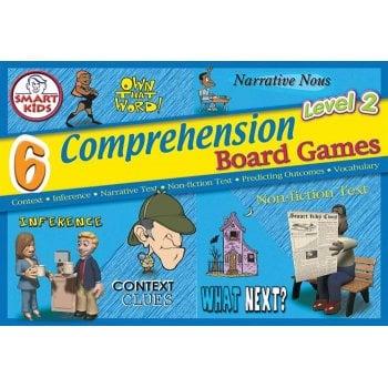 Smart Kids 6 Reading Comprehension Board Games Level 2