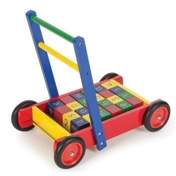 Bigjigs Babywalker with ABC Blocks