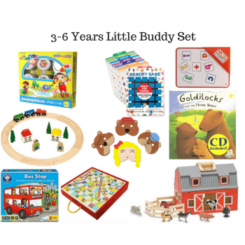 3-6 Little Buddy Set* - Multi-sensory play toys
