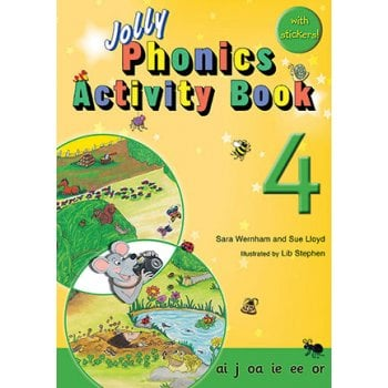 Jolly Phonics Activity Book*