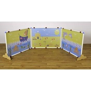 Sand and Sea Rectangle Screens Set* - Sensory room dividers