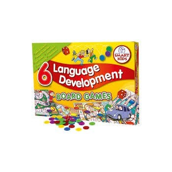 Smart Kids 6 Language Development Board Games