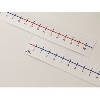 0-20 Tabletop Number Line* Pack of 5