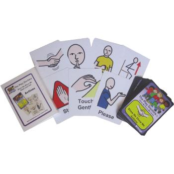 Show Me Show Me Actions Box card set*