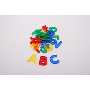 Transparent Uppercase Letters