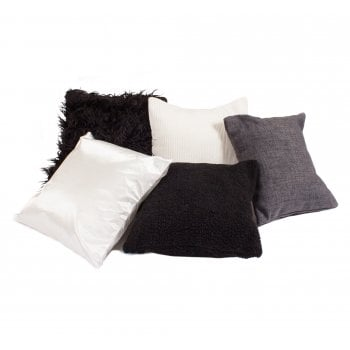 Eden Pk 5 Black & White Sensory Cushions