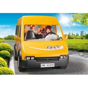 Playmobil Accessible School Van with Folding Ramp