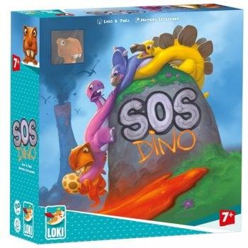 SOS Dino - Collaborative Family Game