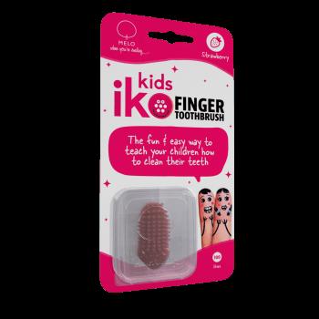 iKo Kids Finger Toothbrush Strawberry