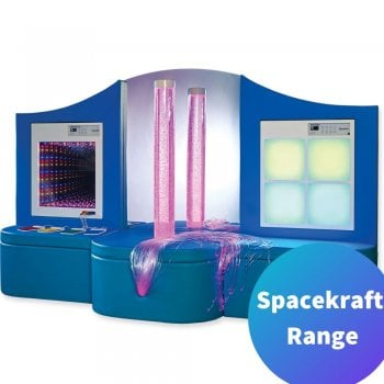 Sensory Suite - Complete sensory room experience with buble tube, fibre optics, mood light and infinity tunnel