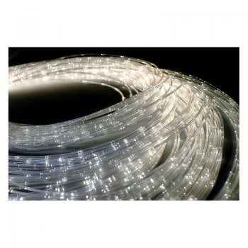 100 X 2m Fibre Optic Colour Changing Side Sparkle Tails and LED Lightsource*