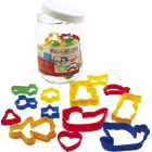 Fun Cutters - Jar of Pastry Cutters