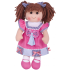 Emma Rag Doll 38cm - Soft and Cuddly Toy